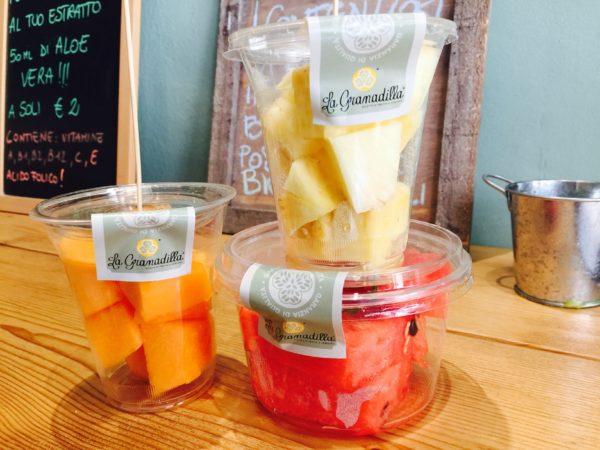 La Grandilla propone Frutta fresca